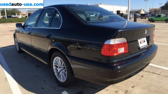 Car Market in USA - For Sale 2003  BMW 5 Series