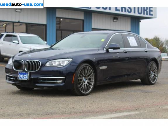 Car Market in USA - For Sale 2013  BMW 7 Series 750Li - Sedan
