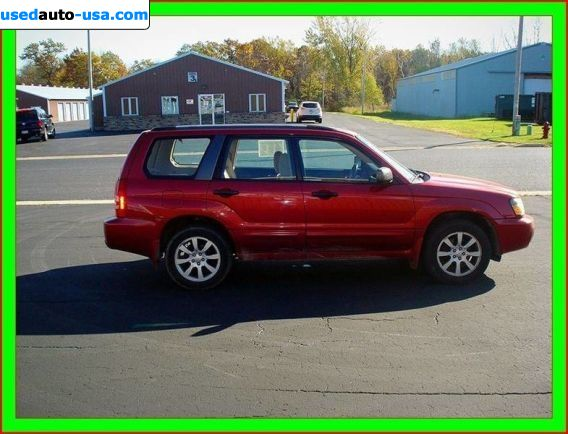Car Market in USA - For Sale 2005  Subaru Forester XS - Wagon