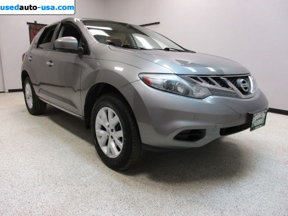 Car Market in USA - For Sale 2012  Nissan Murano SL