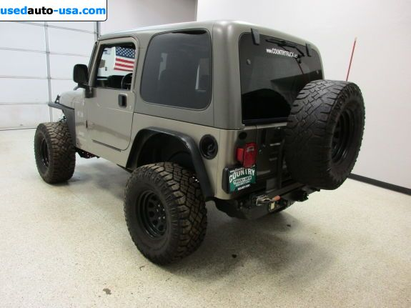 Car Market in USA - For Sale 2006  Jeep Wrangler X - Convertible SUV