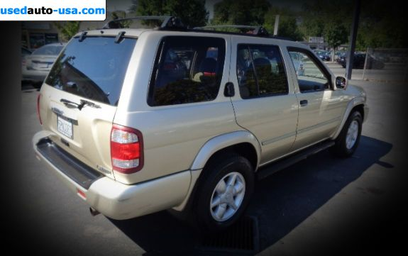 Car Market in USA - For Sale 2001  Nissan Pathfinder LE