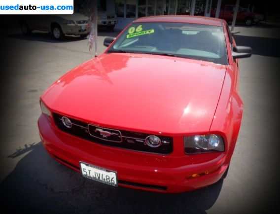 Car Market in USA - For Sale 2006  Ford Mustang Standard