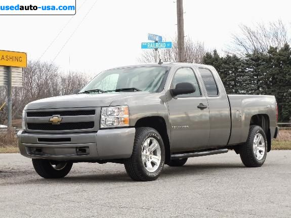 Car Market in USA - For Sale 2009  Chevrolet Silverado Extended Cab 4X4