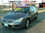 Car Market in USA - For Sale 2007  Honda Accord Special Edition V-6