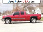 Car Market in USA - For Sale 2004  Chevrolet Silverado Ext Cab 4X4 Z71