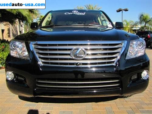 for sale 2010 passenger car lexus lx 570 570 newport beach insurance rate quote price 76995. Black Bedroom Furniture Sets. Home Design Ideas