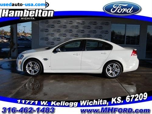 for sale 2009 passenger car pontiac g8 2009 pontiac g8 wichita insurance rate quote price 23181. Black Bedroom Furniture Sets. Home Design Ideas