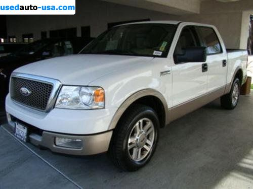 For Sale 2005 Passenger Car Ford F 150 F150 Supercrew Cab