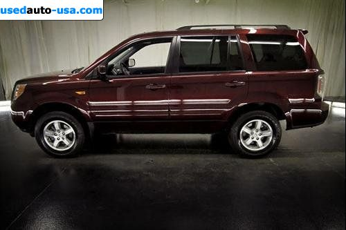 Car Market in USA - For Sale 2008  Honda Pilot AT Leather 4WD   EX