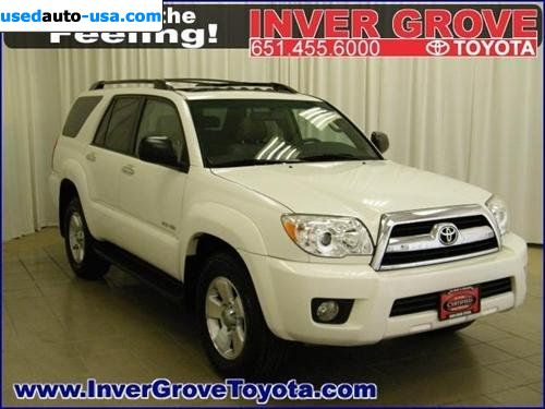 for sale 2008 passenger car toyota 4runner 4wd 4dr v6 sr5 inver grove heights insurance rate. Black Bedroom Furniture Sets. Home Design Ideas