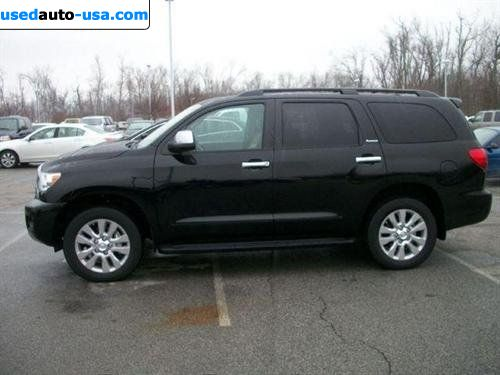 for sale 2011 passenger car toyota sequoia platinum. Black Bedroom Furniture Sets. Home Design Ideas