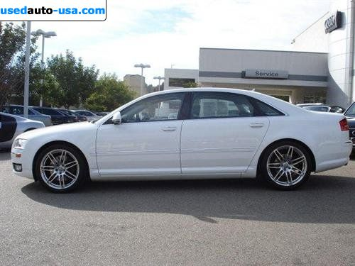 for sale 2009 passenger car audi a8 4 2 mission viejo insurance rate quote price 62982. Black Bedroom Furniture Sets. Home Design Ideas