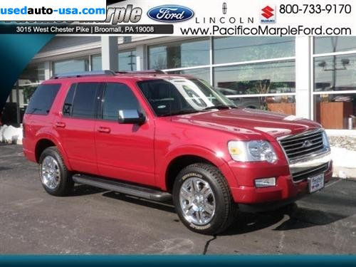 for sale 2010 passenger car ford explorer limited broomall insurance. Cars Review. Best American Auto & Cars Review