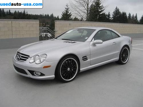 For sale 2007 passenger car mercedes sl 2007 mercedes benz for Mercedes benz insurance cost