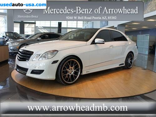 For sale 2011 passenger car mercedes e 2011 mercedes benz for Mercedes benz insurance cost