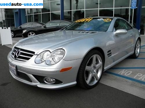 For sale 2008 passenger car mercedes sl 2008 mercedes benz for Mercedes benz insurance cost
