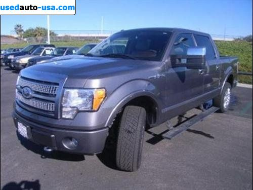 For Sale 2010 Passenger Car Ford F 150 Platinum San Diego Insurance Rate Quote Price 41998