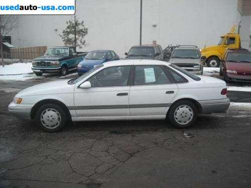 For Sale 1992 Passenger Car Ford Taurus Gl Fort Collins