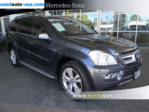 For sale 2010 passenger car mercedes gl 2010 mercedes benz for Mercedes benz insurance cost