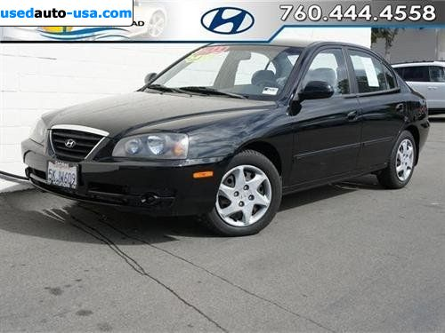 for sale 2004 passenger car hyundai elantra gls sedan 4d. Black Bedroom Furniture Sets. Home Design Ideas