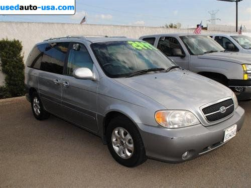 Car Market in USA - For Sale 2004  KIA Sedona 2004 Kia 