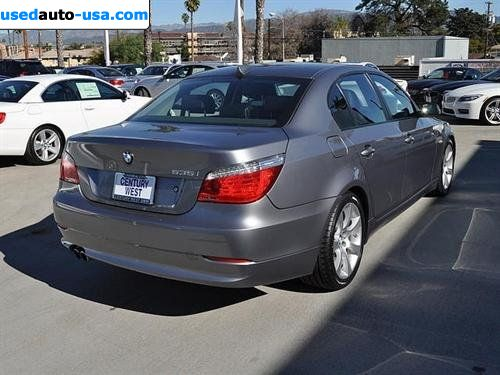 for sale 2009 passenger car bmw 5 series sedan north hollywood insurance rate quote price 38995. Black Bedroom Furniture Sets. Home Design Ideas