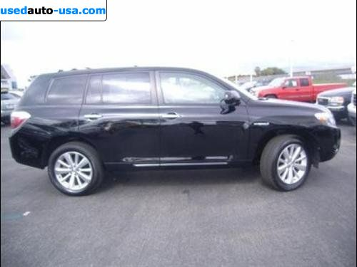 for sale 2008 passenger car toyota highlander hybrid hybrid limited irvine insurance rate. Black Bedroom Furniture Sets. Home Design Ideas