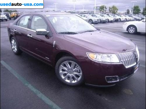 for sale 2011 passenger car lincoln mkz hybrid san diego insurance rate quote price 37998. Black Bedroom Furniture Sets. Home Design Ideas