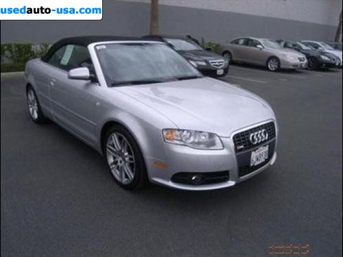 Audi A4 Cabriolet For Sale. Added: 15 March 2011. Car