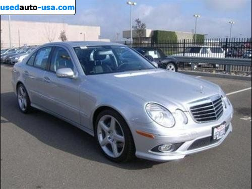 For sale 2009 passenger car mercedes e 2009 mercedes benz for Mercedes benz insurance cost