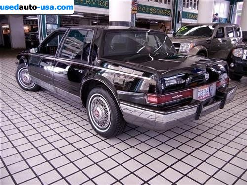 For Sale 1986 Passenger Car Cadillac Seville 1986 Cadillac