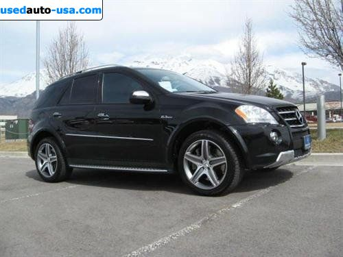 For sale 2009 2009 mercedes benz ml63 amg lindon for Mercedes benz insurance cost