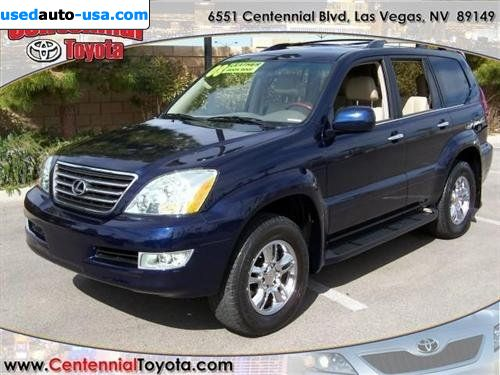 for sale 2008 passenger car lexus gx 470 470 sport utility 4d las vegas insurance rate quote. Black Bedroom Furniture Sets. Home Design Ideas