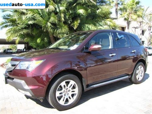 for sale 2009 passenger car acura mdx 4wd 4dr tech pkg newport beach insurance rate quote. Black Bedroom Furniture Sets. Home Design Ideas
