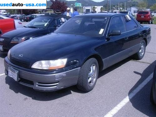 for sale 1994 passenger car lexus es 300 300 leather trim. Black Bedroom Furniture Sets. Home Design Ideas