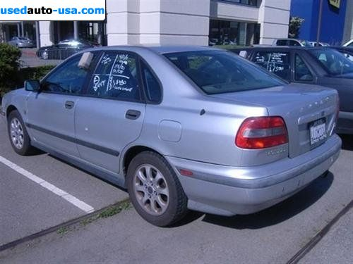 For Sale 2000 Passenger Car Volvo S40 1 9t San Rafael