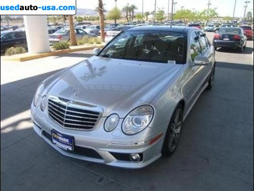 For sale 2007 passenger car mercedes e 2007 mercedes benz for Mercedes benz insurance cost