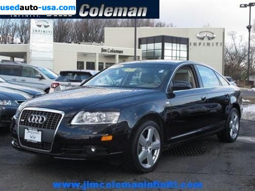 for sale 2008 passenger car audi a6 4 2 quattro awd bethesda insurance rate quote price 37998. Black Bedroom Furniture Sets. Home Design Ideas