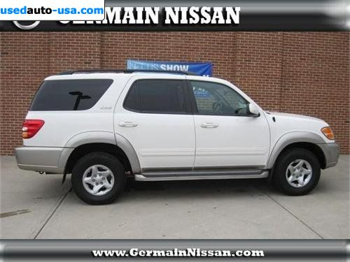 For Sale 2002 Passenger Car Toyota Sequoia Sr5 Columbus
