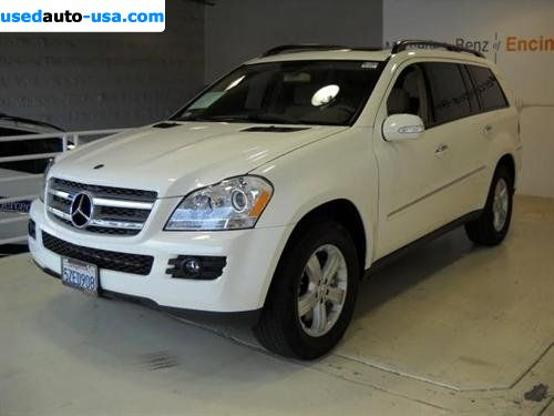 For sale 2007 passenger car mercedes gl 2007 mercedes benz for Mercedes benz insurance cost