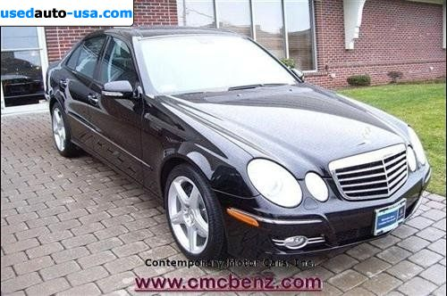 For Sale 2008 Passenger Car Mercedes E 2008 Mercedes Benz