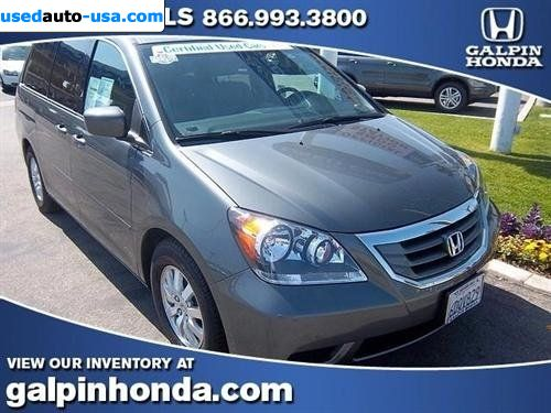 Car Market in USA - For Sale 2008  Honda Odyssey EX Automatic 