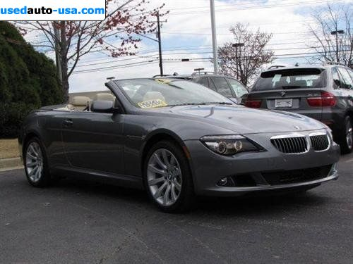 United Bmw Roswell >> For Sale 2008 passenger car BMW 6 Series Convertible ...