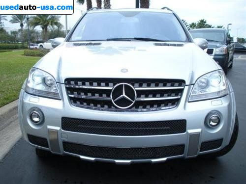 for sale 2008 m 2008 mercedes benz m class 6 3l amg orlando insurance rate quote price 59991. Black Bedroom Furniture Sets. Home Design Ideas