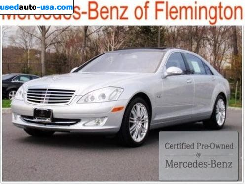 For sale 2008 passenger car mercedes s 2008 mercedes benz for Mercedes benz of flemington