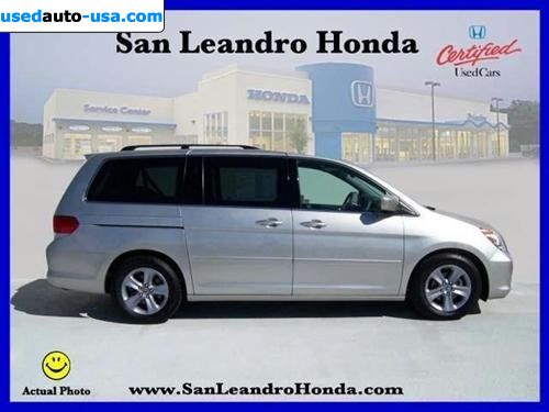 For Sale 2008 Passenger Car Honda Odyssey Touring At W Dvd