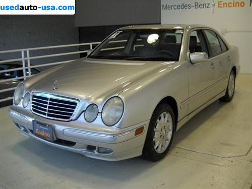 For sale 2001 passenger car mercedes e 2001 mercedes benz for Mercedes benz insurance cost