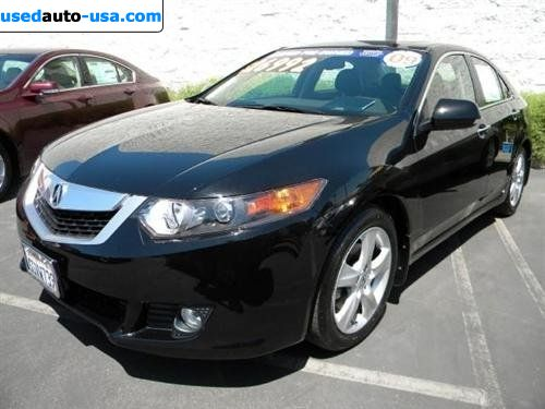 for sale 2009 passenger car acura tsx 2 4 dohc i vtec 6. Black Bedroom Furniture Sets. Home Design Ideas