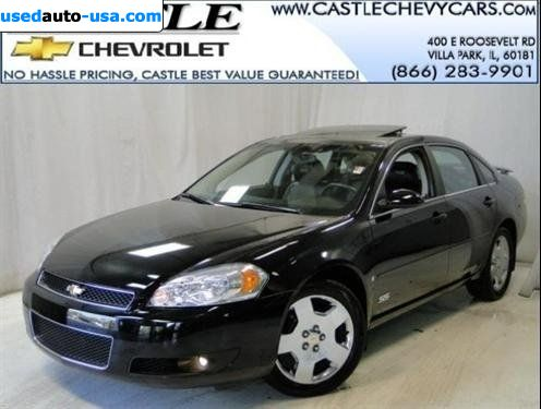 Car Market In USA   For Sale 2008 Chevrolet Impala SS SS ...